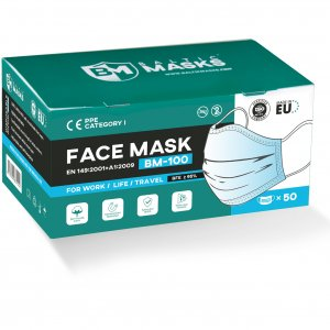 BalticMasks disposable face masks BM-100