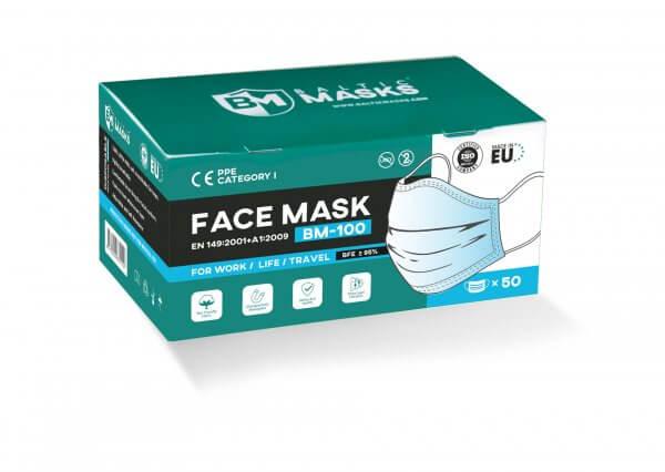 BalticMasks disposable face masks BM-100