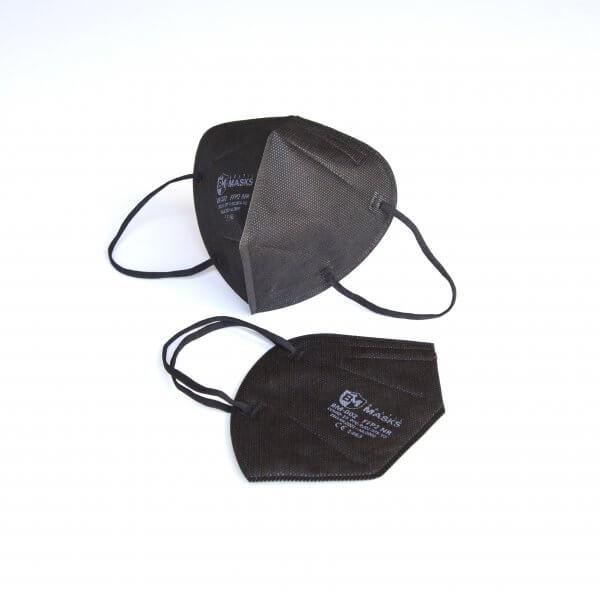 Black FFP2 respirators BM-002